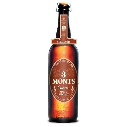 Amber beer Trois Monts Grande Réserve 9.5 ° 75 cl 6b11bd6ba9341f0271941e7df664d056