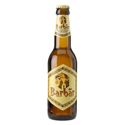 Barbar lager with honey 8 ° 33 cl