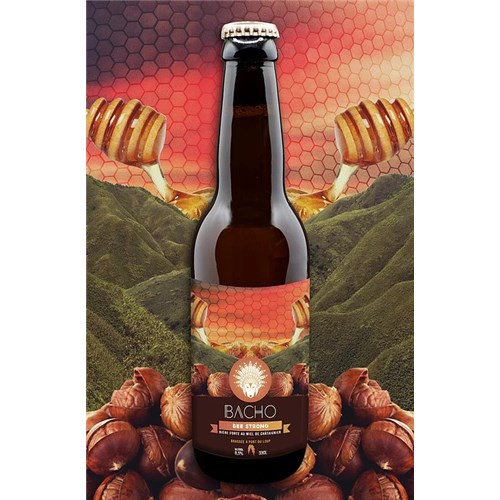 Bee Strong - Bacho Brewery 8.5° 33 cl