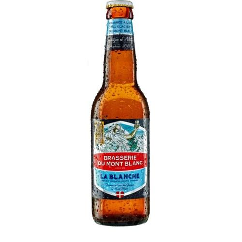 Bière de Mont-Blanc La blanche - 4.7° (33cl)