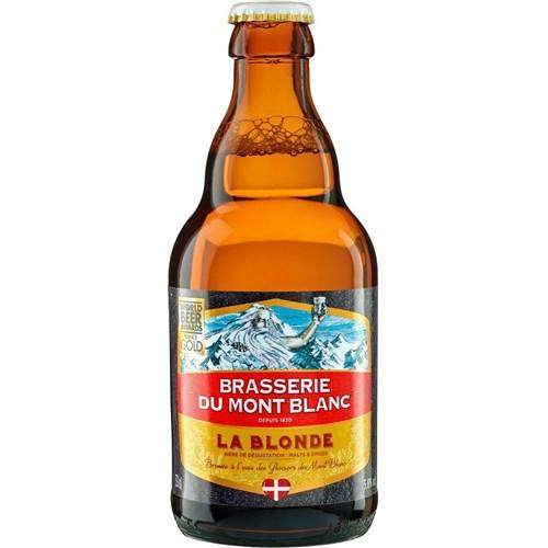 Bière de Mont-Blanc La blonde - 5.8° (33cl)