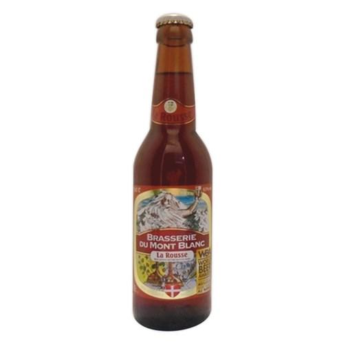 Bière de Mont-Blanc La rousse - 6.5% (33cl)