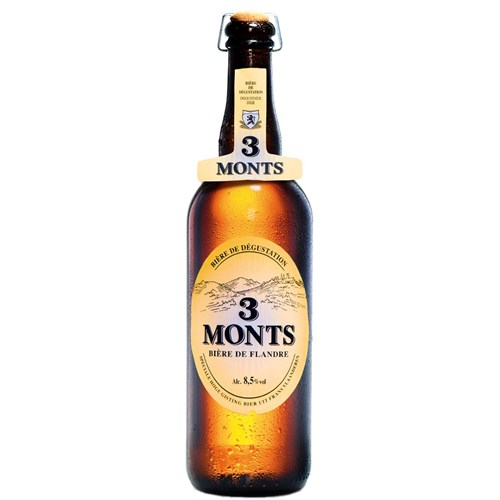 Blond beer Three Monts tradition 8.5 ° 75 cl
