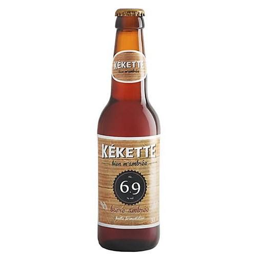Kékette amber beer 6.9 ° 33 cl
