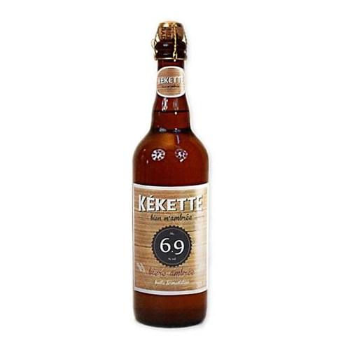Kékette amber beer 6.9 ° 75 cl