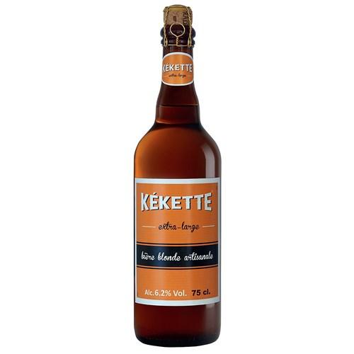 Kekette beer blonde 6.2 ° 75 cl