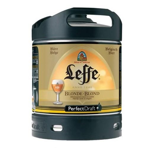 Leffe Blonde Fût de bière (6 l) 6.6°