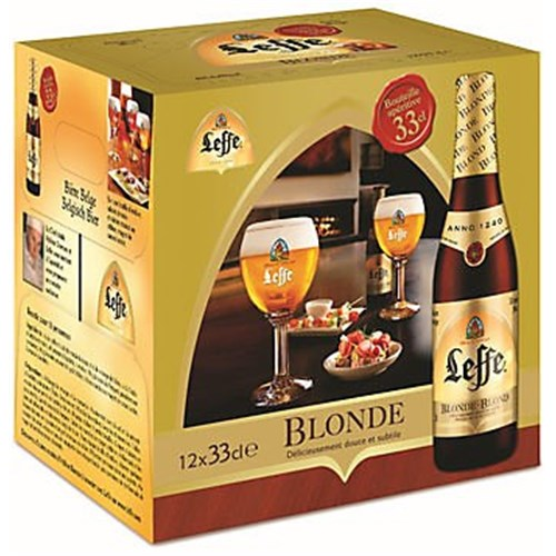 Leffe blonde 6.6 ° 33 cl