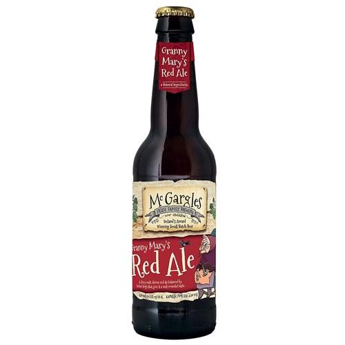 Mc Gargles Granny Mary's Red Ale 4,4 ° 33 cl