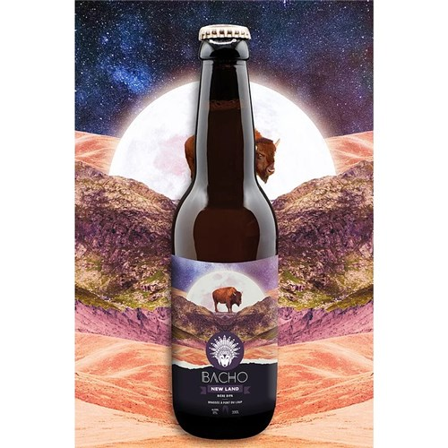 New Land - Double IPA - Bacho Brewery 8° 33 cl