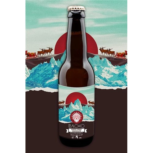 Santa Loves Chocolate - Bacho Brewery 7.5° 33 cl