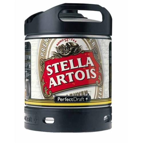 Stella Artois Fût de bière (6 l) 5°