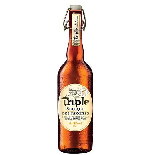 Triple secret of the monks lager 8 ° 75 cl