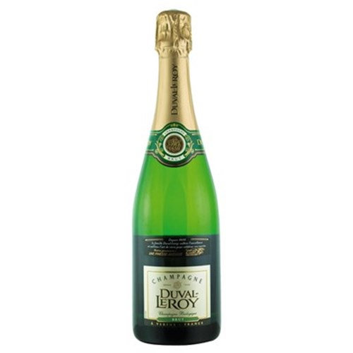 Champagne crude Duval Leroy organic 75 CL