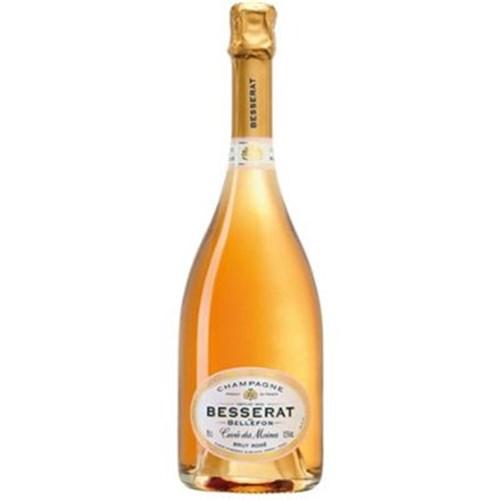 Champagne rosé Cuvée des Moines Besserat of Bellefon 75 CL