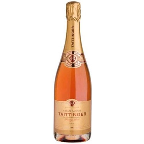 Champagne rosé cuvée prestige 75 CL Taittinger