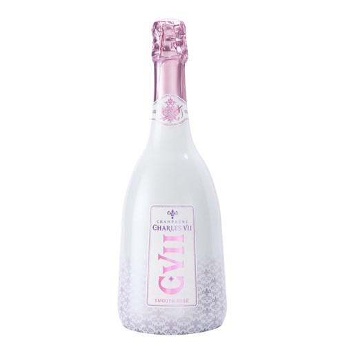 Charles VII Smooth Rosé - Champagne Canard Duchene