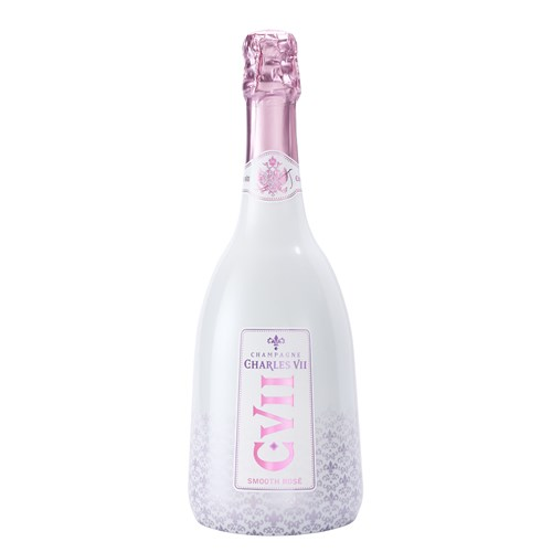 Charles VII Smooth Rosé with Case - Champagne Canard Duchene