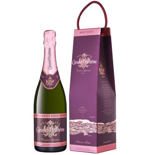 Cuvée Léonie Rosé with Case - Champagne Canard Duchêne