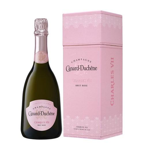 Grande Cuvée of the Rose Charles VII Coffret - Champagne Canard Duchêne