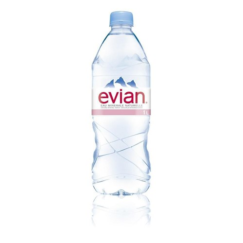 Natural mineral water Evian 1 L