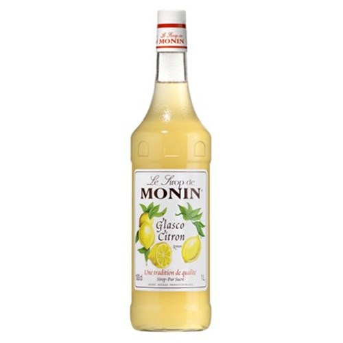 Glasco Lemon Syrup - Monin 100 cl 6b11bd6ba9341f0271941e7df664d056