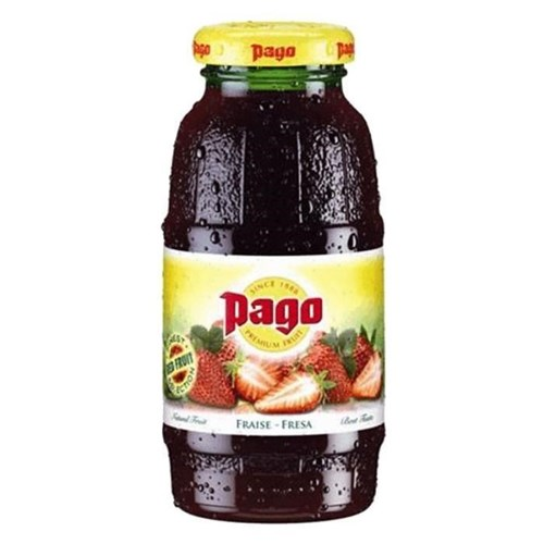 Jus de fruits Pago Fraise 12x20cl