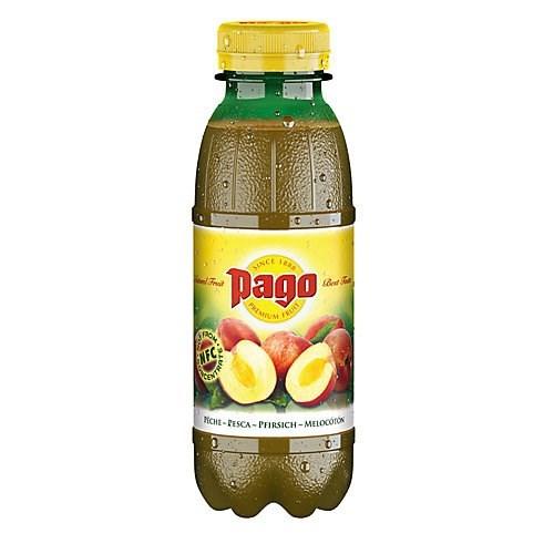 Pago Peach fruit juice 33cl b5952cb1c3ab96cb3c8c63cfb3dccaca