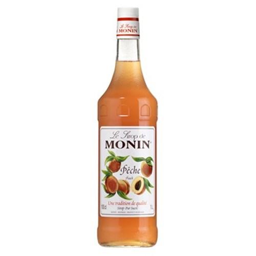 Peach syrup - Monin 100 cl 6b11bd6ba9341f0271941e7df664d056
