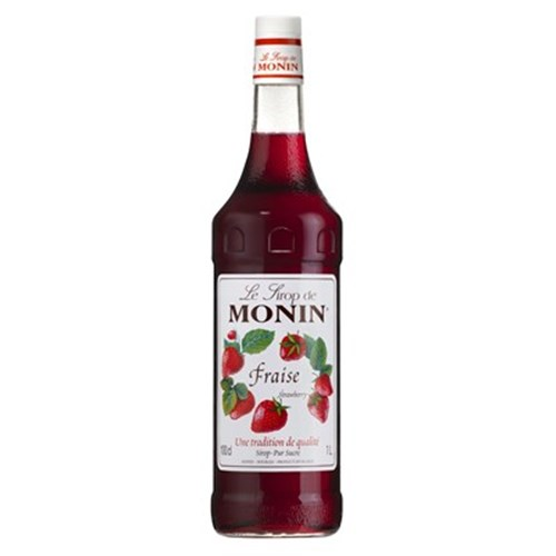 Strawberry syrup - Monin 100 cl 6b11bd6ba9341f0271941e7df664d056