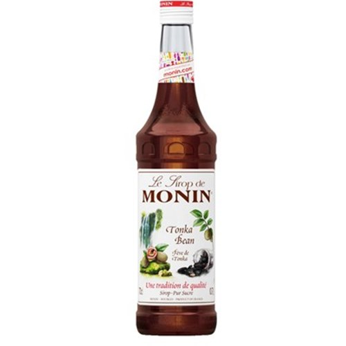 Tonka Bean Syrup - Monin 70 cl 6b11bd6ba9341f0271941e7df664d056