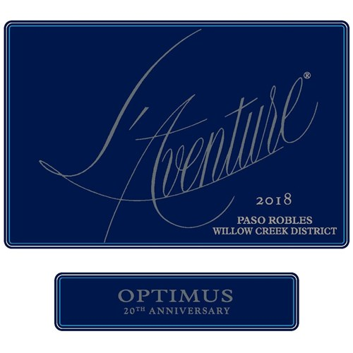L'Aventure - Optimus - Stephan Vineyards - Paso Robles 2018
