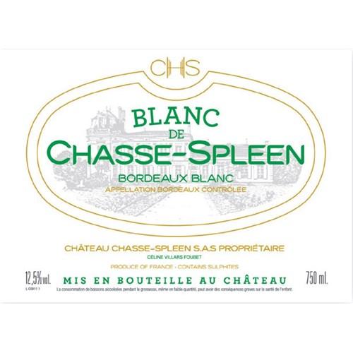 Blanc de Chasse Spleen - Château Chasse Spleen - Bordeaux 2018