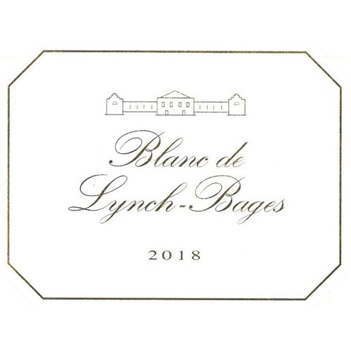 Blanc de Lynch Bages - Château Lynch Bages - Bordeaux 2018