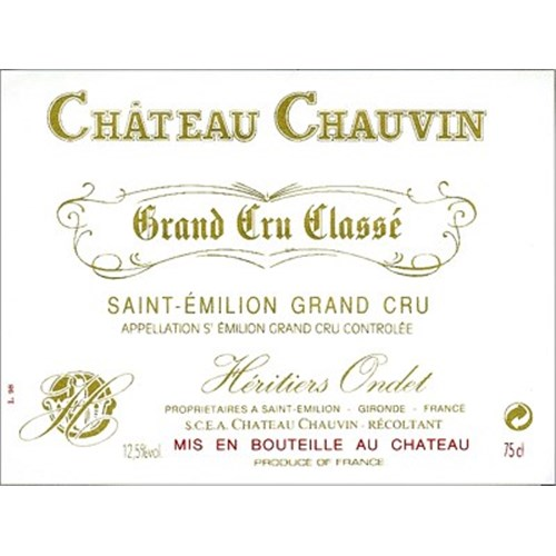 Castle Chauvin - Saint-Emilion Grand Cru 2015