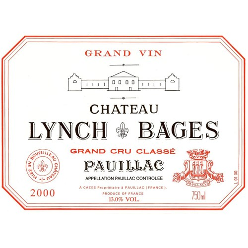 Castle Lynch Bages - Pauillac 2000