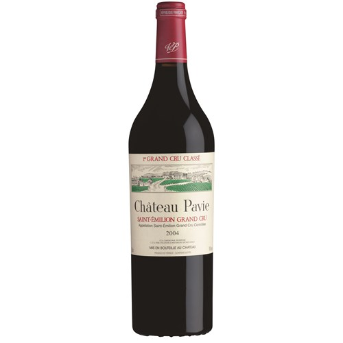 Castle Pavie - Saint-Emilion Grand Cru 2004