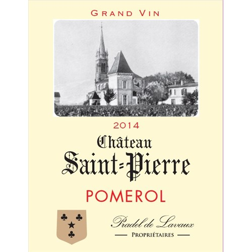 Castle Saint-Pierre - Pomerol 2014