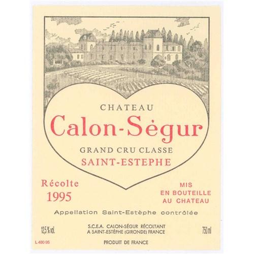 Château Calon Ségur - Saint-Estèphe 1995 6b11bd6ba9341f0271941e7df664d056