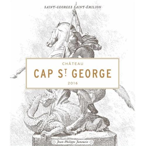 Château Cap St George - Saint-Georges Saint-Emilion 2016 6b11bd6ba9341f0271941e7df664d056