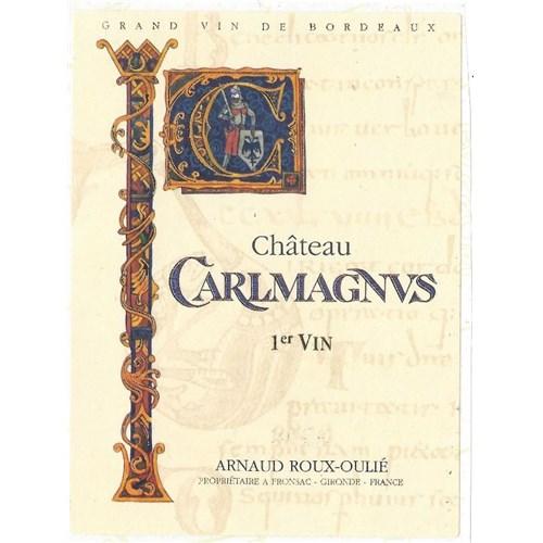 Château Carlmagnus - Fronsac 2017 6b11bd6ba9341f0271941e7df664d056