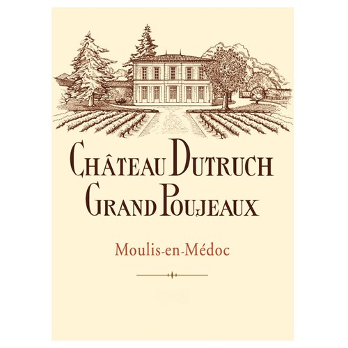 Château Dutruch Grand Poujeaux - Moulis 2017