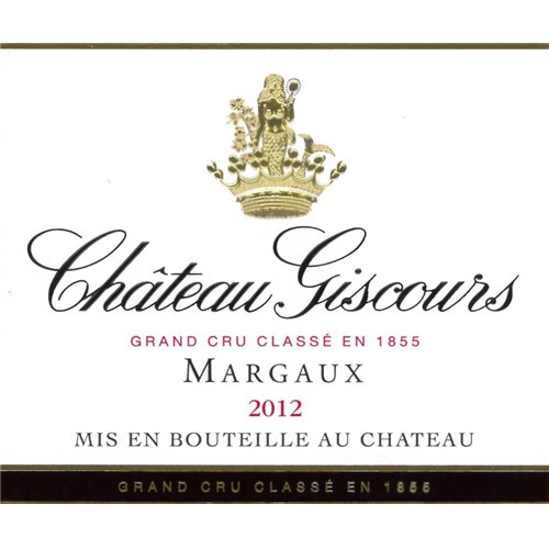 Chateau Giscours - Margaux 2012