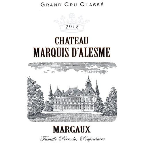Château Marquis d'Alesme - Margaux 2018