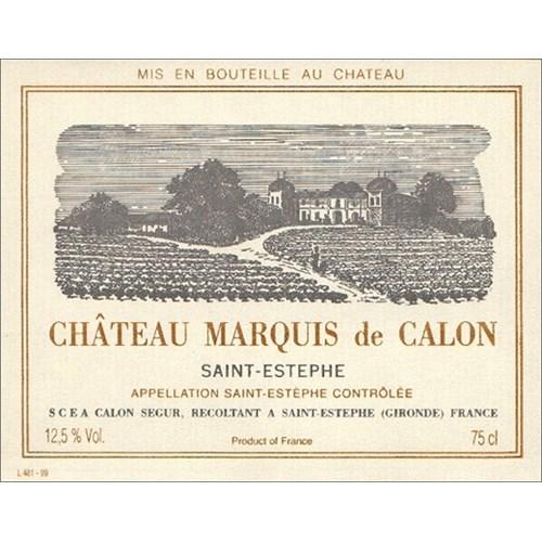 Château Marquis de Calon - Château Calon Ségur - Saint-Estèphe 2017 6b11bd6ba9341f0271941e7df664d056