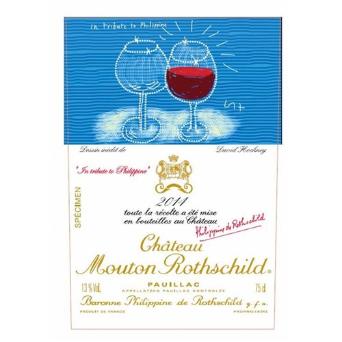 Chateau Mouton Rothschild - In tribute to Philippine - Pauillac 2014