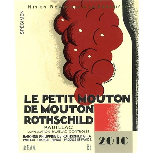 Château Petit Mouton - Pauillac 2010
