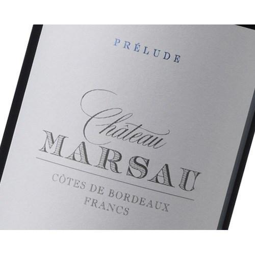 Château Prélude de Marsau - Francs-Côtes de Bordeaux 2016