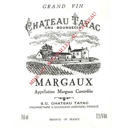 Château Tayac - Margaux 2013
