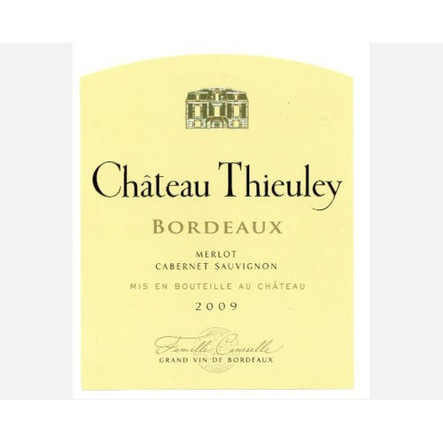 Château Thieuley red - Bordeaux 2016